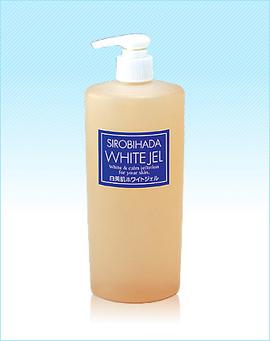 スハダコスメチックス  ラヴィソワール ホワイトジェル (大入りサイズ400ml)/ Raviesoir White Jel (400mL)